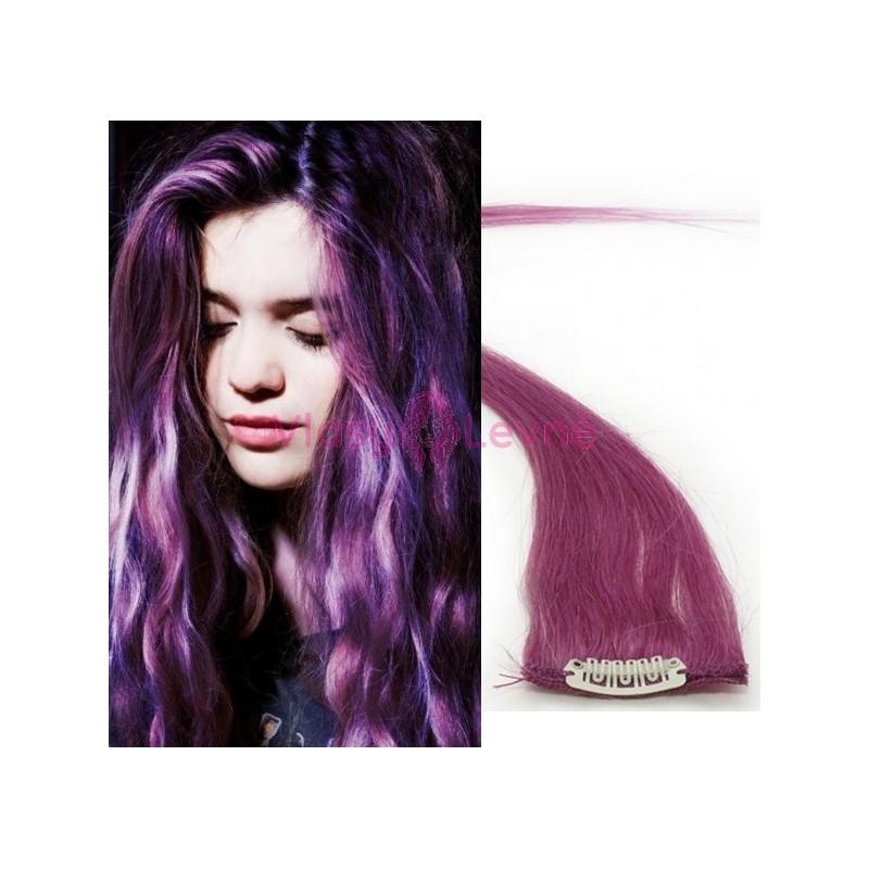 fialová barva vlasů