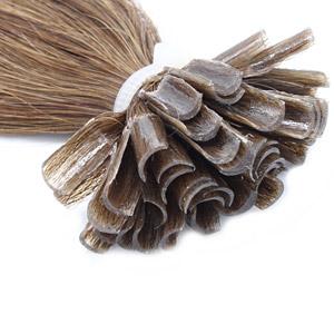 Vlasy s keratinem
